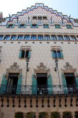 Casa Amatller, Barcelona, Spain.