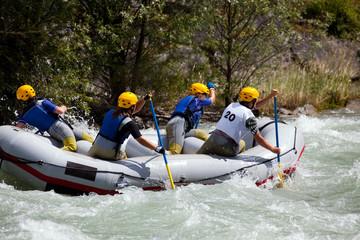 rafting femminile