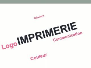 Présentation imprimerie flyer logo couleur