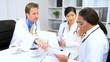 Hospital Planning Meeting Multi Ethnic Doctors