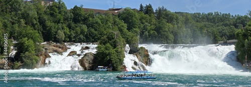 canvas print picture Rheinfall