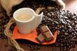 caffè e cioccolatto al caffè