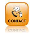 """CONTACT"" Web Button (hotline customer service call us details)"