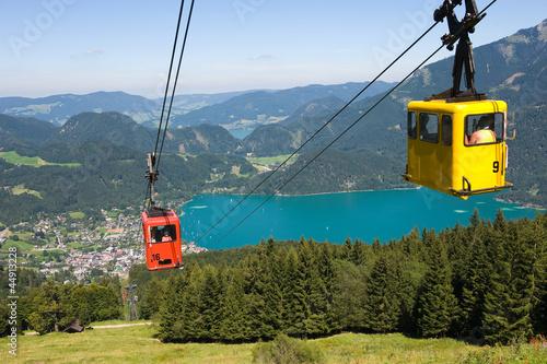 Cableway in alps © Robert Hoetink