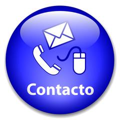 """Botón Web """"CONTACTO"""" (servicio al cliente soporte técnico ayuda)"""