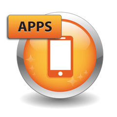 """APPS"" Web Button (smartphone mobile phone download application)"