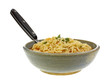 Spicy Noodle Soup Bowl Spoon