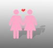 Homosexuelles Pärchen - Weiblich