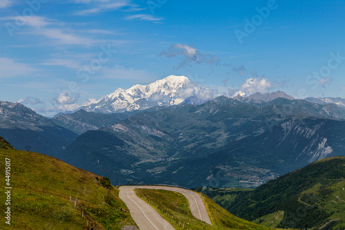 canvas print picture Mont Blanc