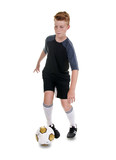 Fototapety Fussball – Technik: Ball führen