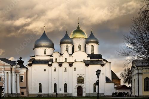 Saint Sophia Cathedral in the Kremlin of Velikiy Novgorod - 44915274