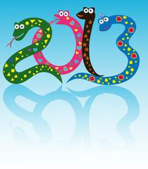 веселые змеи