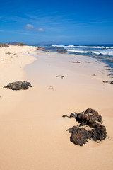 Fuerteventura, edge of Burro beach