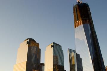 The new World Trade Center skyline