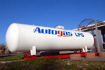 Tankstelle, Autogas, LPG, Liquified Petroleum Gas, Flüssiggas