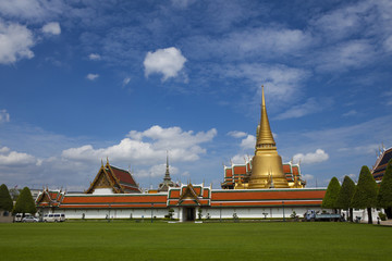 The Grand Palace and The Emerald Buddha Temple of Thailand