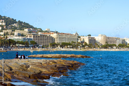 Azure coast of france, Cannes resort