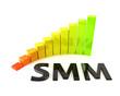 Social Media Marketing Diagramm