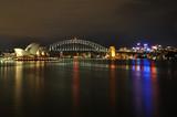 Fototapety Sydney Harbour at night