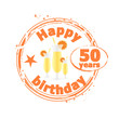 happy birthday 50 years