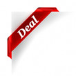 Deal Red Banner