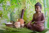 Fototapety Asiatische Klangschalentherapie