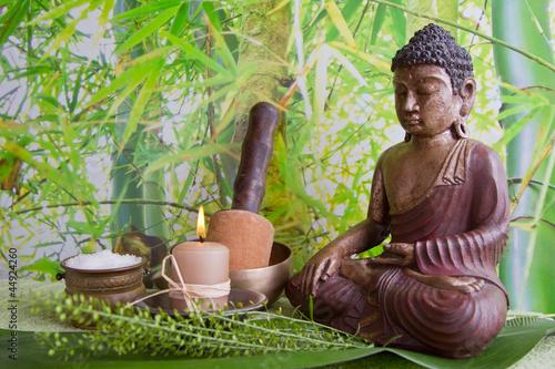 Fototapeten,klangschale,buddhas,wellness,grün