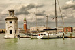 Venice, view from san giorgio. artistic toned picture