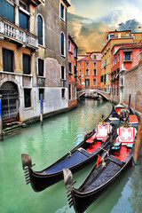 beautiful Venice urban landscape