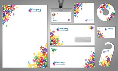 Design of corporate identity kit