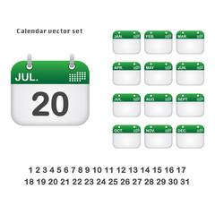 Calendar, timetable