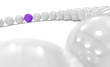 3D Purple Ball Focus 1