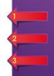 Colorful Arrows Vector Sample option