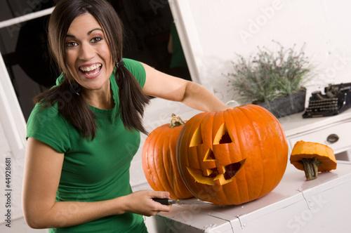 Joyful Pumpkin Carving