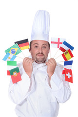 Cook with flags