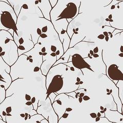 Wallpaper with birds