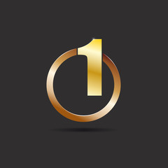 Logo number one, the best # vector