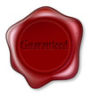 Guaranteed red wax seal