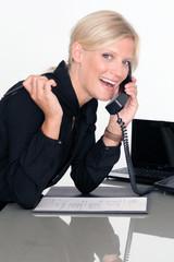 Businessfrau