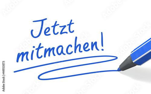 Stift- & Schriftserie: Jetzt mitmachen! blau
