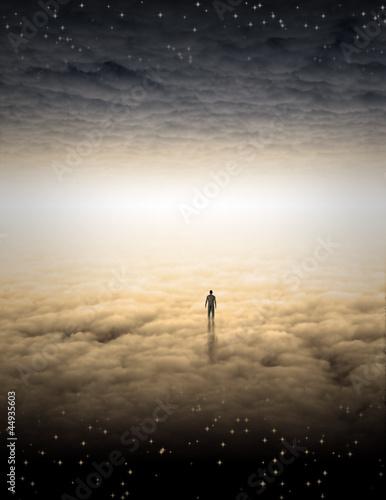 Leinwanddruck Bild Mans Journey of the Soul