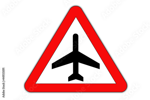 Aeroplane danger, roadsing
