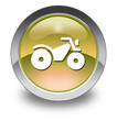 """Yellow Glossy Pictogram """"All Terrain Vehicle Trail"""""""