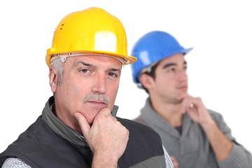 Thoughtful tradesmen