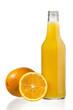orange fruits and juice