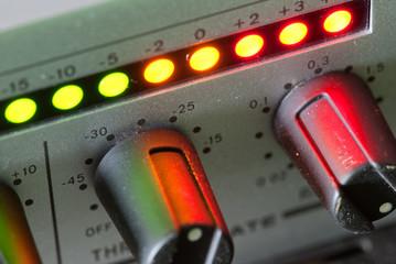 Vintage audio mixer