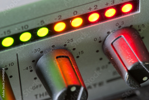 Vintage audio mixer