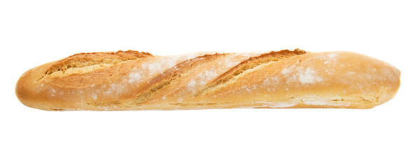 French baguette fully isolated