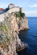 Dubrovnik Cliffs by the Adriatic Sea
