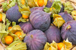 Feigen und Physalis -  Figs and Cape Gooseberry